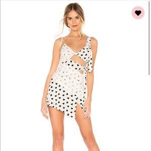 For Love and Lemons June Asymmetrical Dress